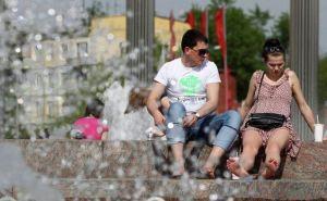 В Украину возвращается жара