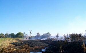 В Луганске локализовали возгорание на отстойниках (фото)
