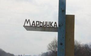 При обстреле Марьинки получил ранения мирный житель