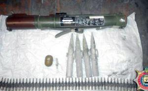 Милиция изъяла у жителя Авдеевки противотанковый гранатомет и боеприпасы