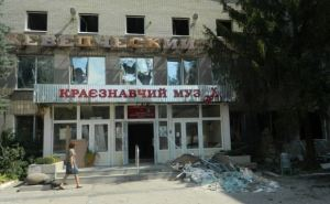 Разбор завалов краеведческого музея Донецка завершен на 80%