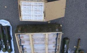 В Счастье на месте дислокации добровольческого батальона нашли склад боеприпасов (фото)