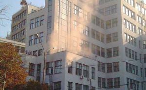 В центре Харькова пожар