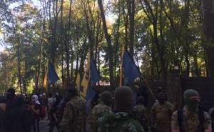 Батальон «Азов» блокировал дом Добкина в Харькове (ФОТО)