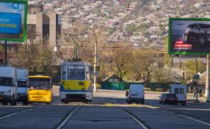 В Луганске демонтируют трамвайные контактные сети