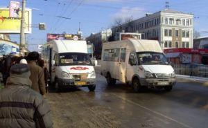 В Луганске создадут службу, контролирующую график движения маршруток