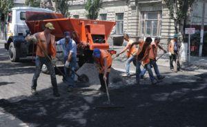 В Луганске продолжается ремонт дорог (адреса)