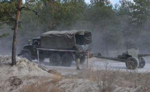 В Попаснянском районе продолжается отвод вооружения