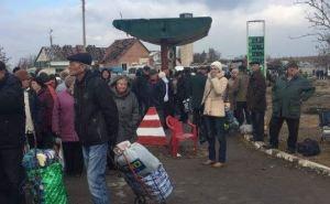 Открытие пешеходного пункта пропуска в Станице Луганской (фото)