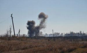 На складе боеприпасов в Сватово локализовали пожар (фото)