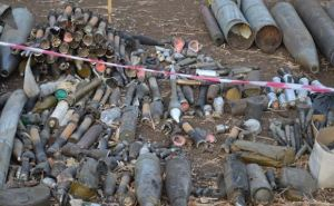 В Сватово слышны взрывы: продолжается уничтожение боеприпасов (фото)
