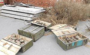 В Сватово обнаружили тайник с боеприпасами (фото)