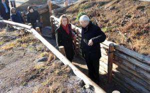Послу Франции показали, как строят «Стену» на российско-украинской границе