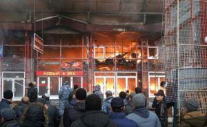 Пожар в «Барабашово». Погорельцам предоставят новые торговые места
