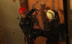 В спасательной службе Луганска появились специалисты-высотники (фото)