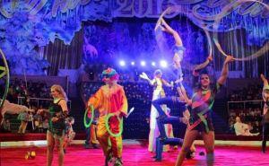 В восстановленном здании Луганского цирка показали новогоднее представление (фото)