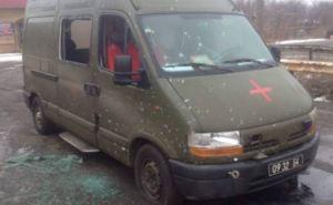 Харьковские медики-волонтеры попали под обстрел в зоне АТО