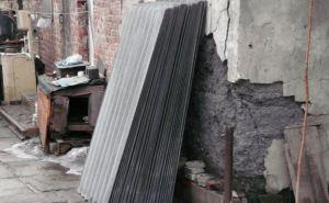 Жителям разрушенных домов в Алмазной и Ирмино выдают стройматериалы