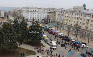 Празднование Масленицы в Луганске прошло спокойно