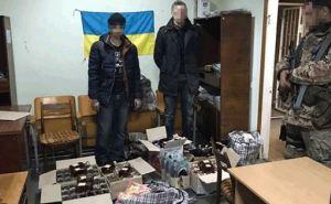 В Станице Луганской задержали «алкогольных контрабандистов» (фото)