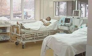 В Харьковский госпиталь доставили 17 бойцов из зоны АТО