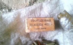 Возле Трехизбенки обнаружили тайник с противопехотными минами (фото)