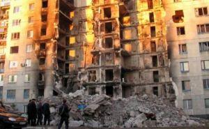 Многоэтажка, разрушенная обстрелами в Лисичанске, может рухнуть