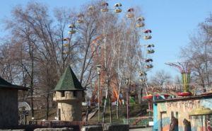 Луганский парк 1Мая готовится к открытию (фото)