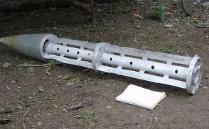 Житель Антрацитовского района нашел на своем огороде элемент ракеты «Ураган»