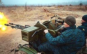Под Харьковом прошли учения зенитно-ракетных подразделений Нацгвардии