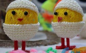 В Луганске прошла ярмарка пасхальных сувениров (фото)