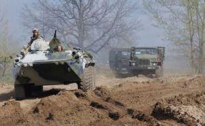 Под Харьковом прошли военные учения