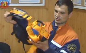 Луганские спасатели получили альпинистское снаряжение от Красного Креста (видео)