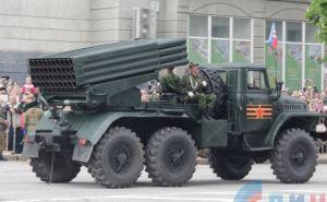 В Луганске на параде 9мая будет использована военная техника