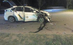 В Харькове произошло тройное ДТП с участием патрульной полиции (фото)