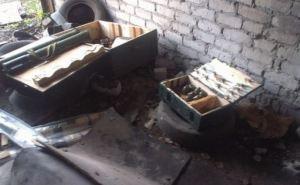 В здании одного из заводов Северодонецка обнаружили тайник с боеприпасами (фото)