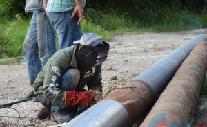 «Луганскгаз» смонтировал треть газопровода Ирмино-Первомайск (фото)