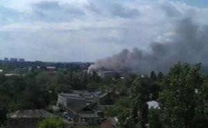 В Харькове горят склады (дополнено)