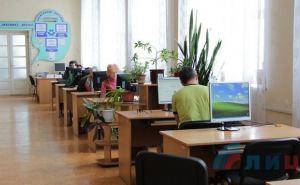 Здание библиотеки им. Горького в Луганске восстановили на 70% (фото)