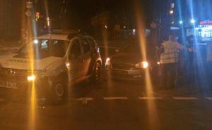 В Северодонецке пьяный водитель врезался в машину патрульной полиции (фото)