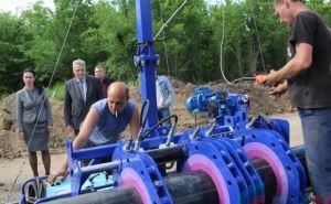 В Первомайске запустили новый газопровод