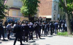 Правый сектор в Харькове «похоронил» Путина