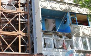 В Первомайске восстанавливают многоэтажные дома, поврежденные обстрелами (фото)