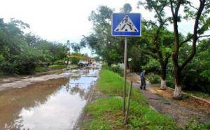 В Луганске ликвидируют последствия урагана (фото)