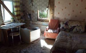 Станица Луганская снова страдает от обстрелов (фото)