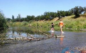 Спасатели проверили места стихийного купания в Луганске (фото)