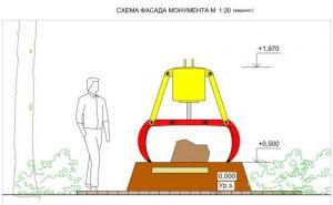В Донецке установят памятный знак в виде двухметрового грейферного ковша