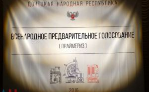 В самопровозглашенной ДНР принято положение о проведении праймериз