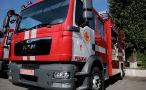 Подразделения ГСЧС Луганской области получили 2 новые пожарные машины (фото)