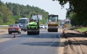 Завершен ремонт первого участка трассы Харьков-Ахтырка (фото)